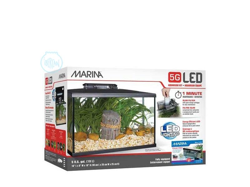 Acuario Marina LED 5G 20 litros ideal para iniciarse
