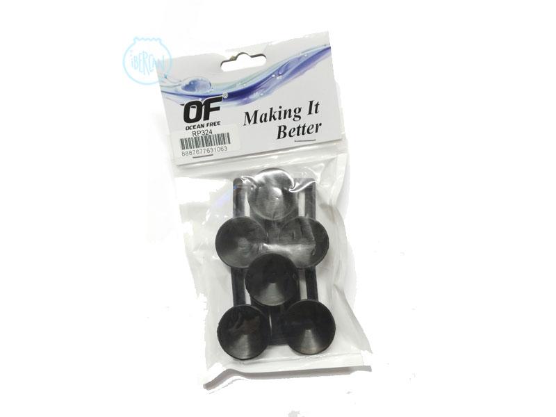 Soportes para los filtros Hydra 40/50 con ventosas incluidas.