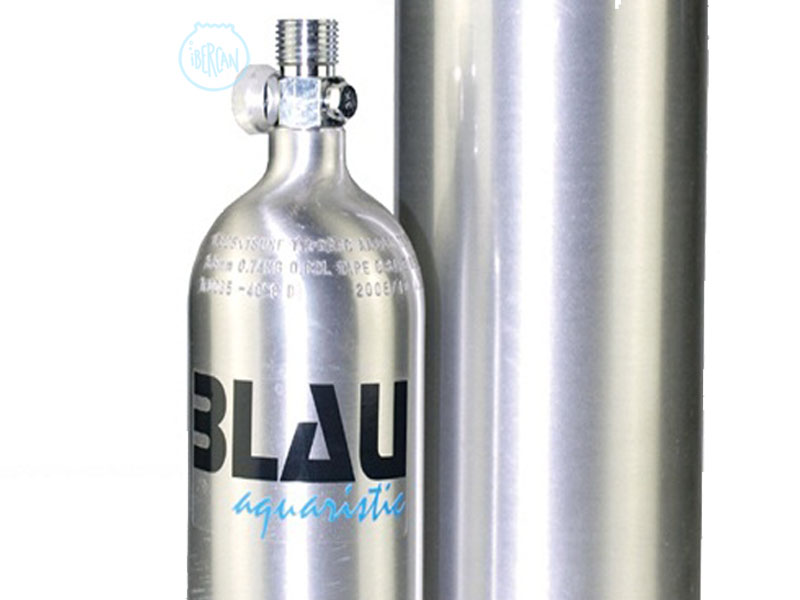 Botella CO2 aluminio 3 litros Blau