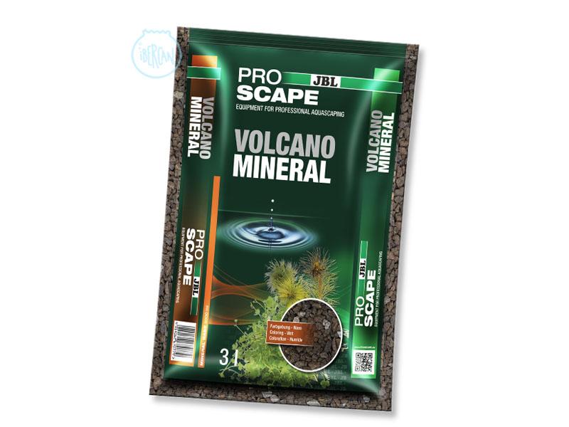 JBL Volcano Mineral es un sustrato de roca volcánica