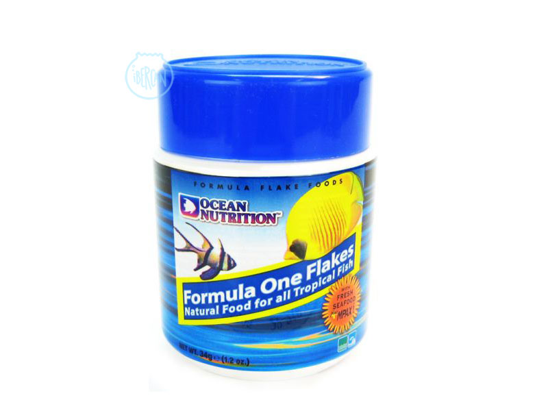 Alimento peces marinos Ocean Nutrition formula One marine Flakes 34g