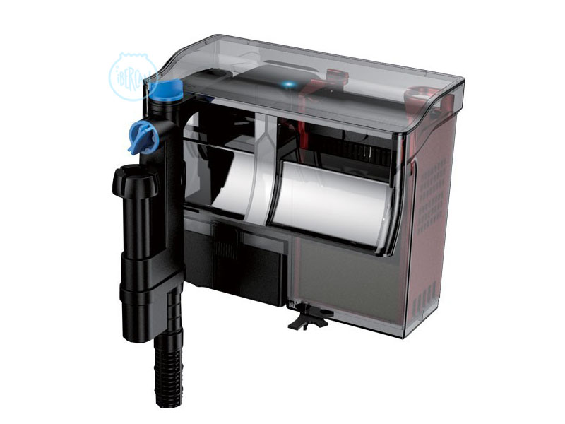 El Grech CBG-800 es un potente filtro de mochila para acuarios de 800l/h + UV incorporada.