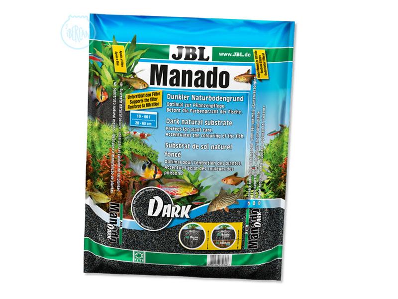 El sustrato JBL Manado Dark es ideal para el cuidado de plantas