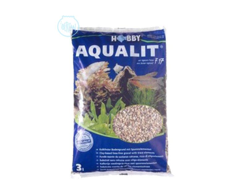 Sustrato para plantas de acuario Aqualit de Hobby