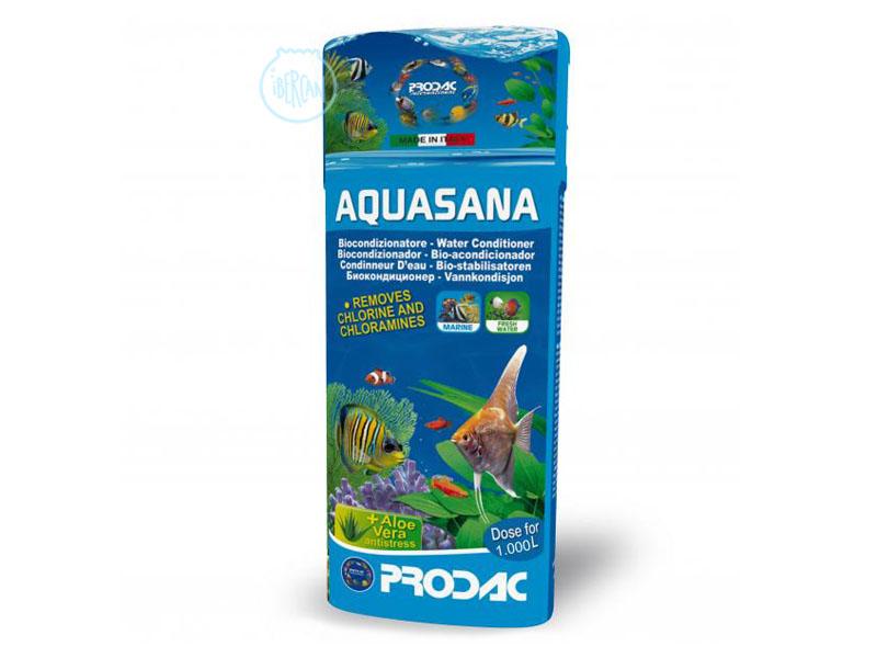 Prodac Aquasana 250ml tratamiento para acuarios de agua dulce y marina