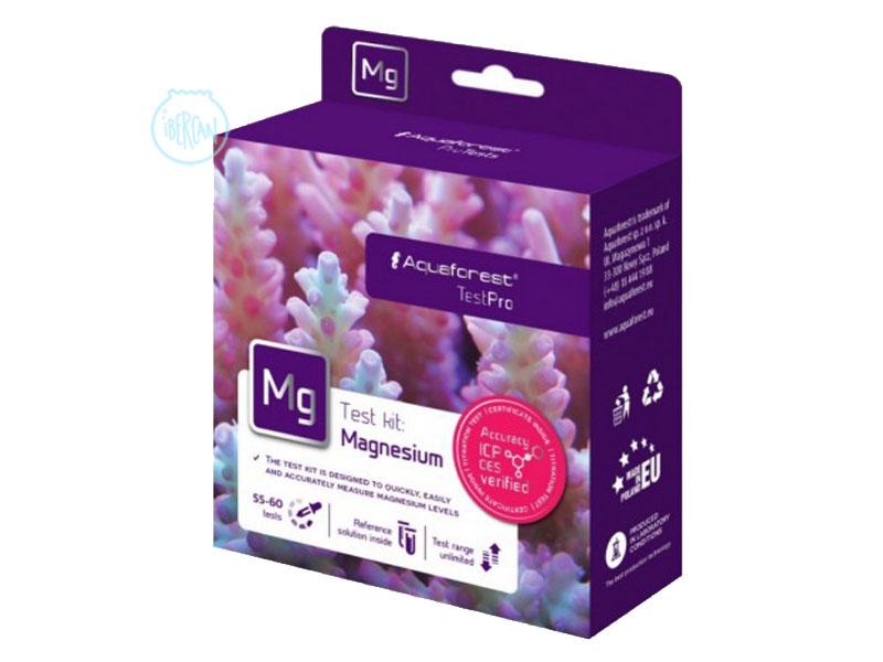 El Aquaforest Tes MG es un test para conocer el valor del magnesio