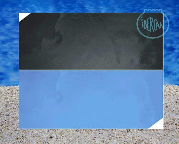 Fondo decorativo acuarios azul, negro