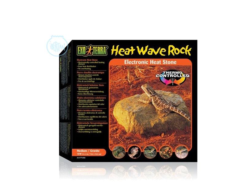 La Piedra Térmica Exoterra simula una roca