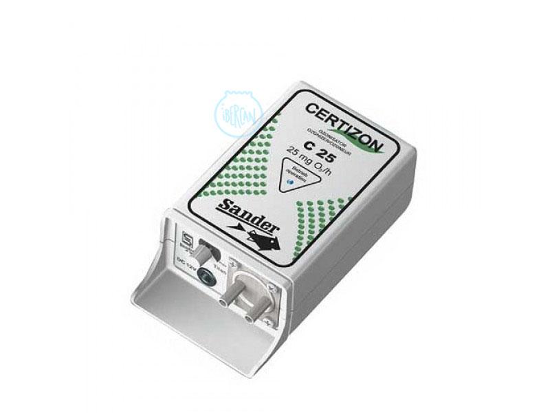 El ozonizador Sander 25 aumenta el potencial redox