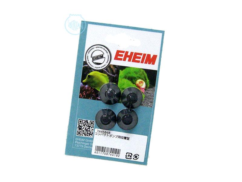 Juego 4 ventosas Eheim para bombas compact 1000-1001-1002 filtros Eheim Mini Up , Eheim Mini Flat y Eheim Skim 350
