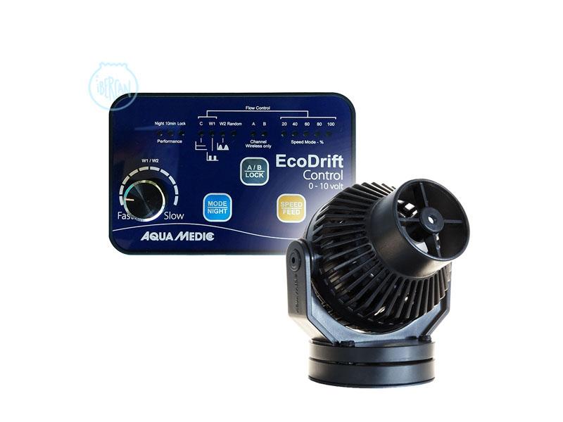 Powerhead Aquamedic EcoDrift 8.1 es una bomba circulación regulable con el controlador incluido 2000/4000 l/h