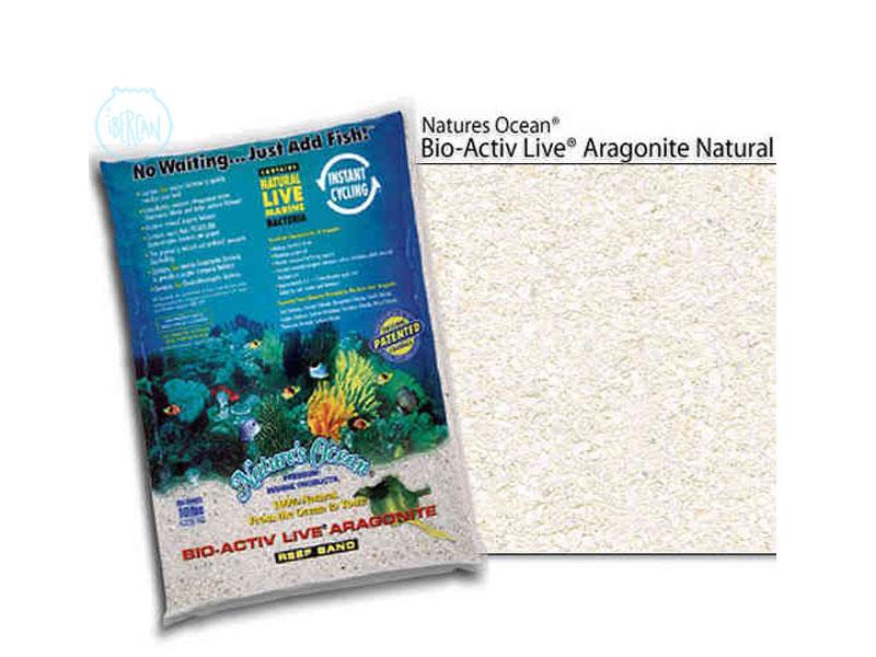 Arena Premium LIVE Aragonite de Natures Ocean 4,5kg