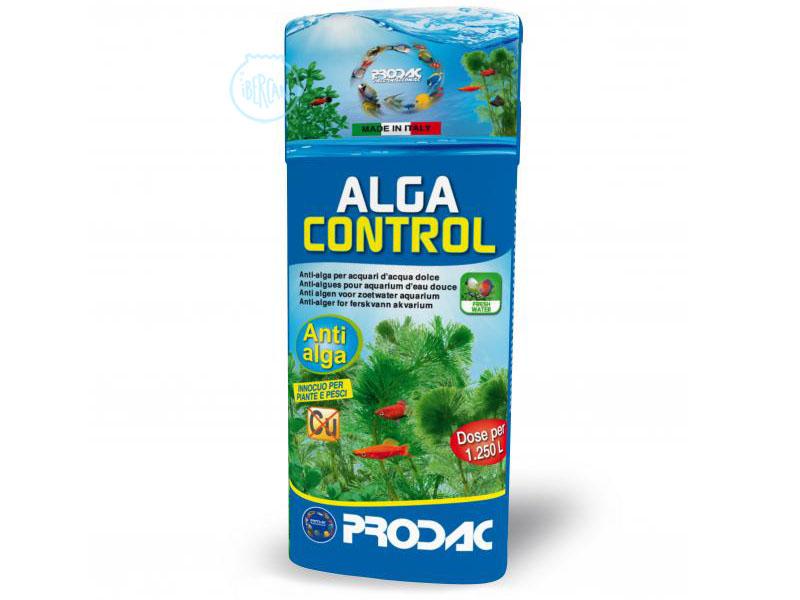 Prodac Algacontrol Pond 500ml es un algicida eficáz contra las algas de estanque que entrubian el agua.