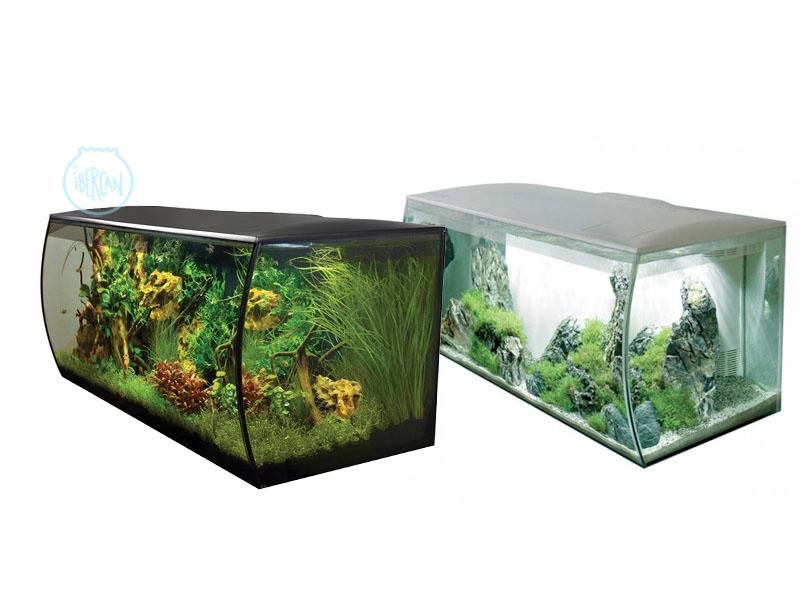 El acuario Fluval Flex de 123 Litros se une a la atrevida serie de acuarios con curvas de Fluval.