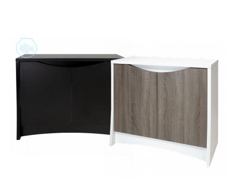 Mesa para acuario Fluval Flex de 123 L en dos colores.