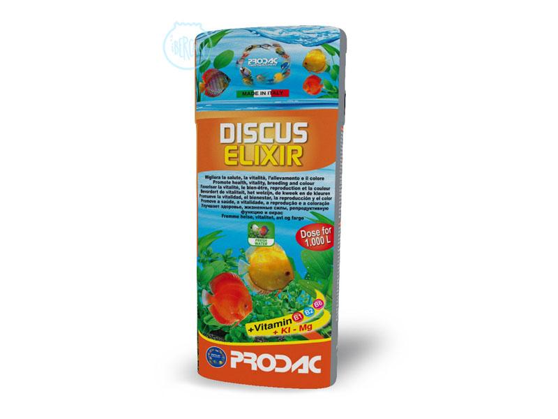 Discus Elixir de Prodac es una solución concentrada de vitaminas