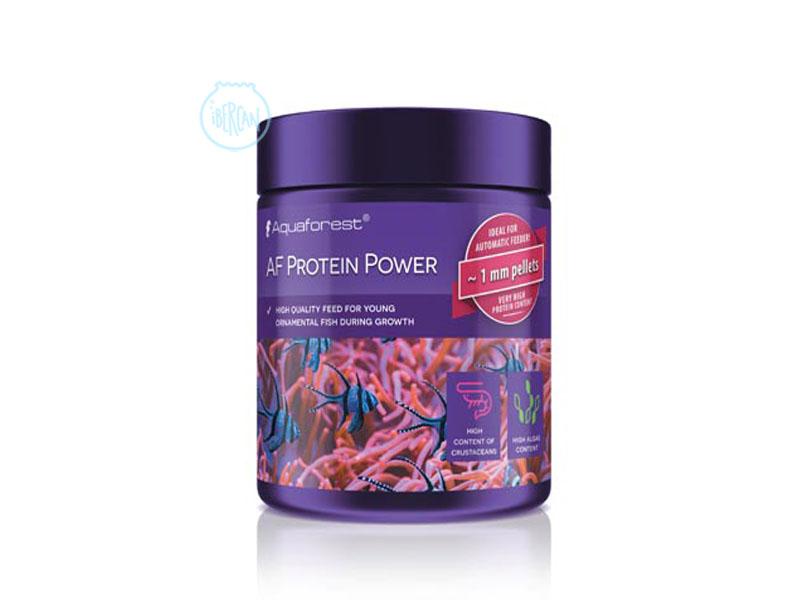 Aquaforest AF Protein Power es un alimento para peces marinos jóvenes