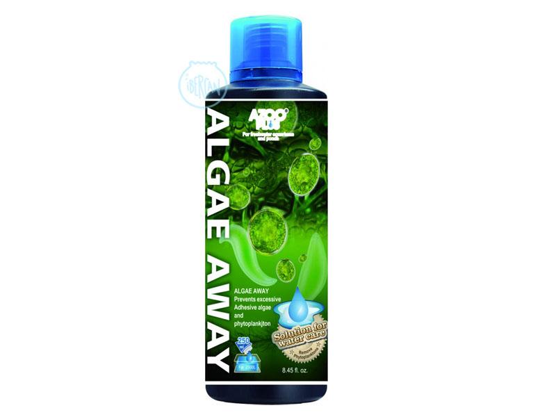 Azoo Algae Away elimina y previene el crecimiento de algas de acuario