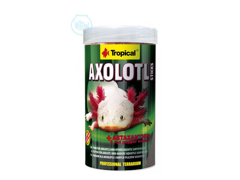 Tropical AXOLOTL STICKS  alimento para el axolote y otros anfibios