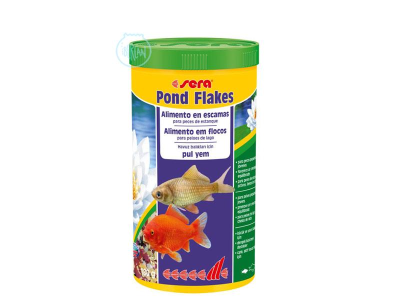 Alimento en copos para carpas Sera Pond Flakes