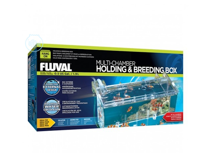 Fluval Breeding Box es una paridera externa de acuario