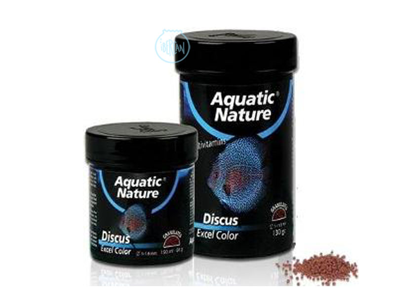 Alimento peces disco para reforzar el color Aquatic Nature