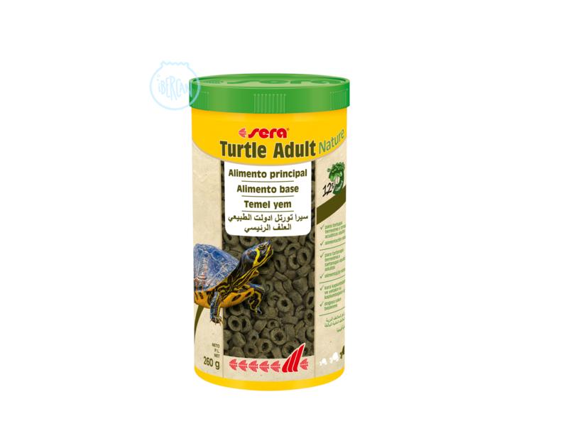 Sera Turtle Adult Nature es el alimento para tortugas terrestres y  acuáticas