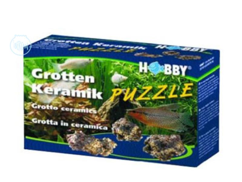 Grotten Keramik son rocas ideales para acuario