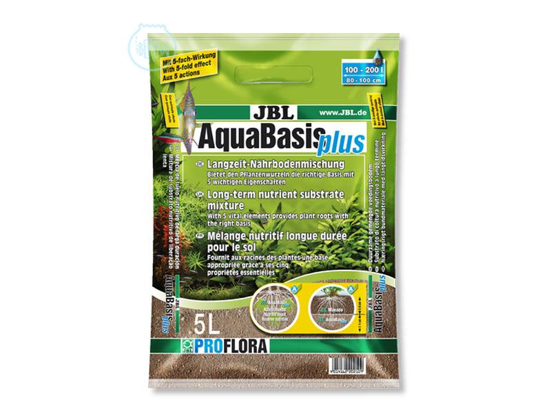 Sustrato plantas acuario JBL Aquabasis Plus