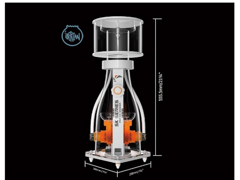 Skimmer Maxpect SK 400 sistema de filtración para acuarios marinos