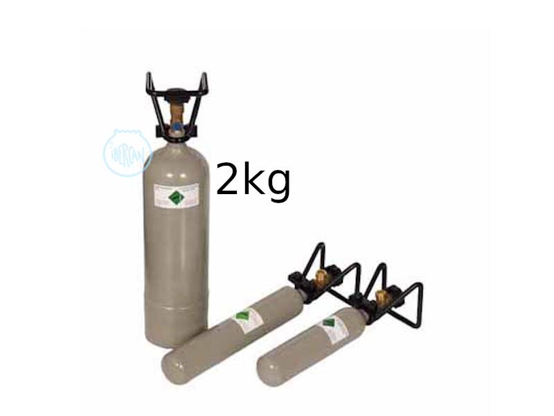 Botella CO2 Aqua Medic de 2kg.