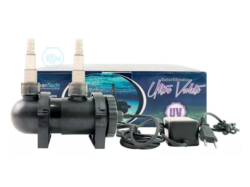 La lámpara germicida para acuarios y estanques Ocean Tech de 9w,