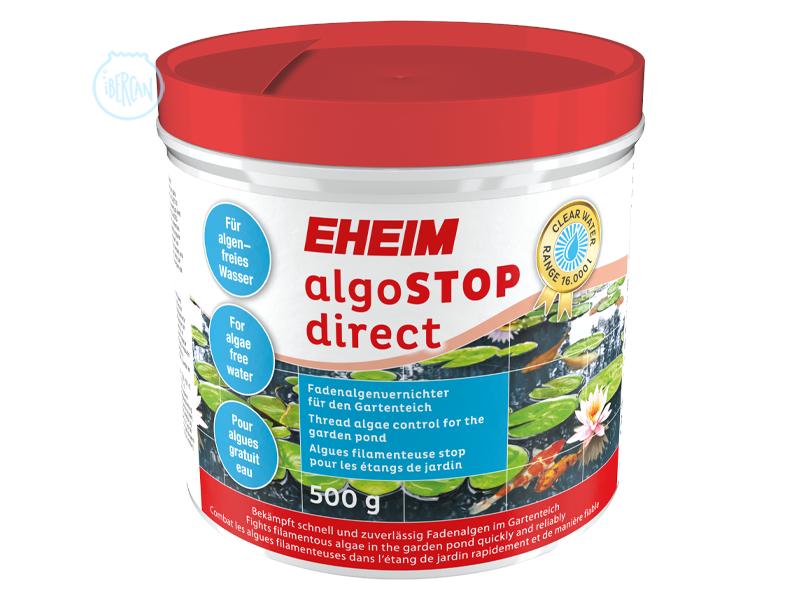 EHEIM algoSTOP direct elimina las algas filamentosas en el estanque de jardín.