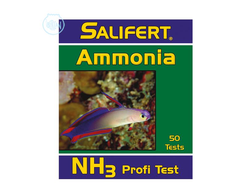 Test Salifert de Amonio en gotas, para acuarios marinos