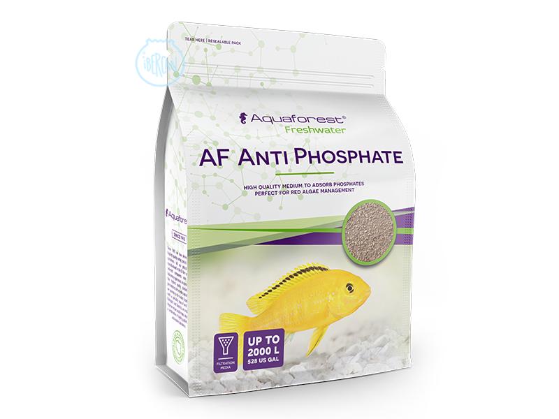 AF Anti PhosPhate elimina eficazmente los fosfatos del acuario.