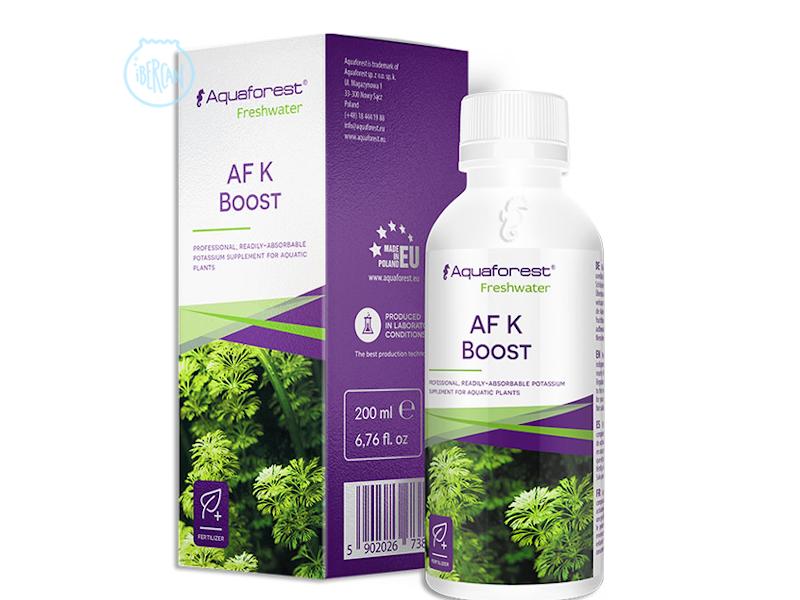 AF K Boost es un fertilizante de potasio profesional fácilmente absorbible para plantas acuáticas.