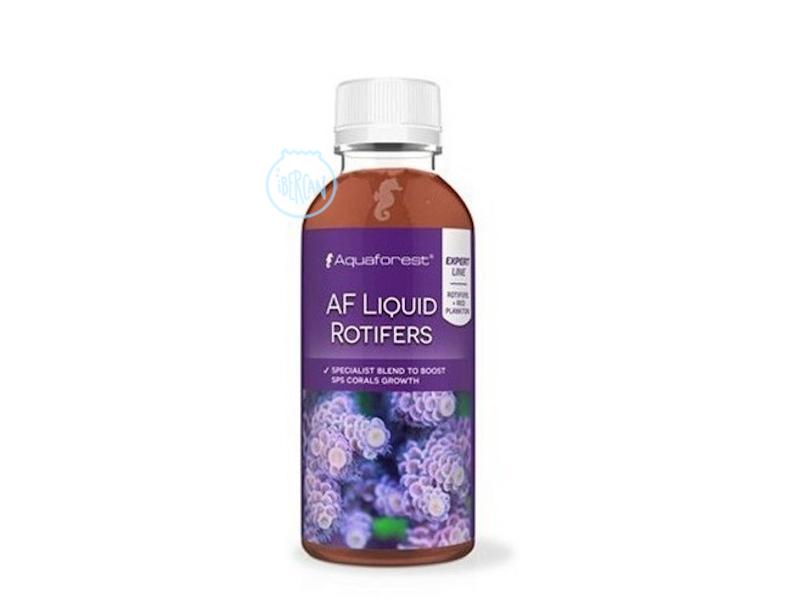 AF Liquid Rotifers es un alimento perfecto para corales.