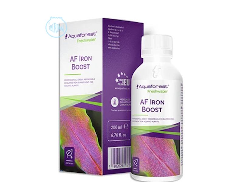 AF Iron Boost es fertilizante de hierro absorbible para plantas acuáticas.