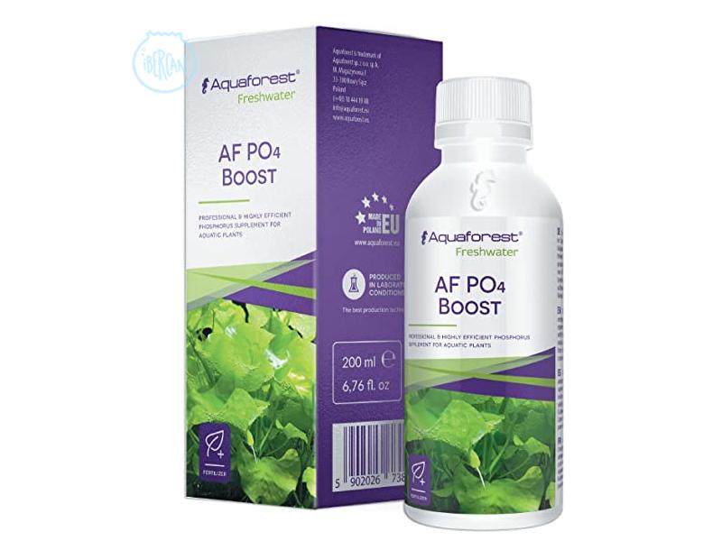 AquaForest AF Po4 Boost es un suplemento de fósforo para plantas acuáticas