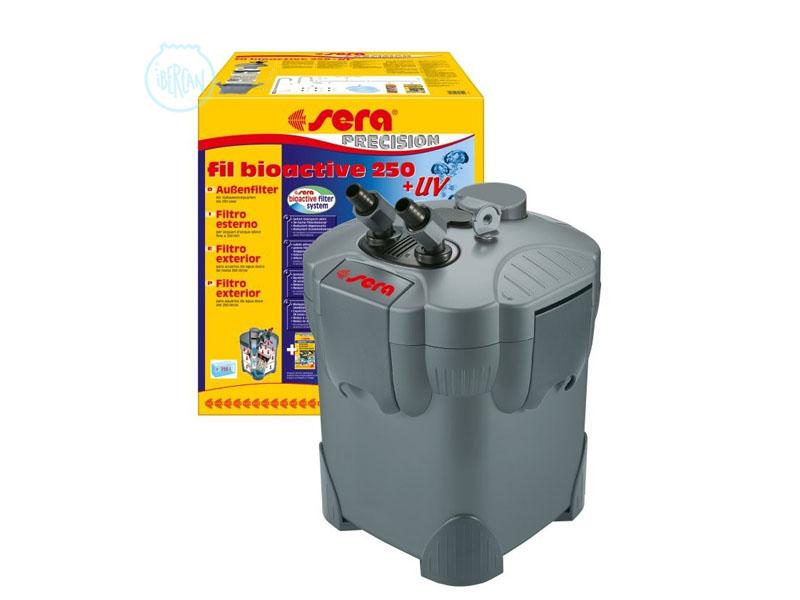 filtro externo para acuarios sera fil bioactive 250 uv