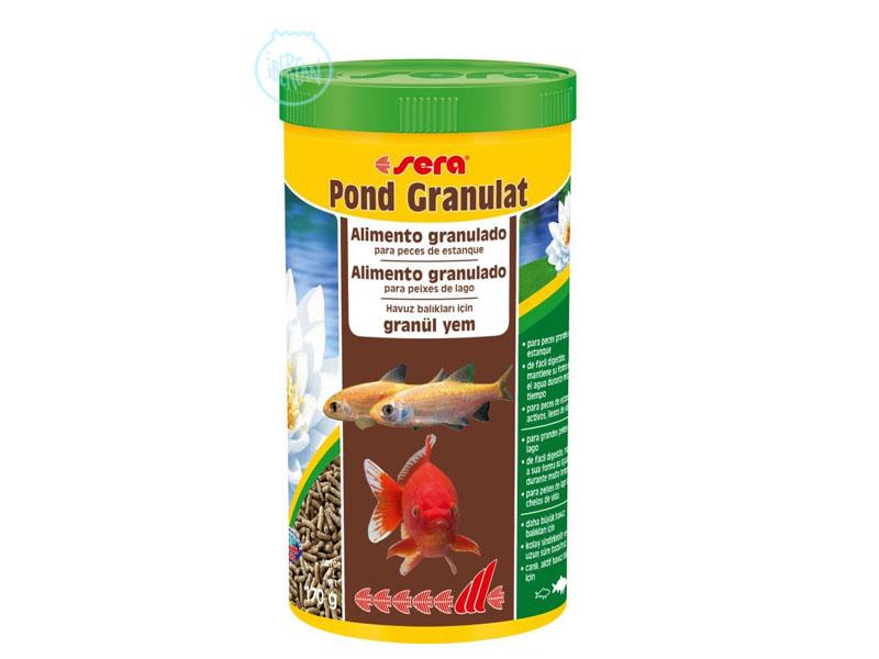 Alimento granulado peces estanque Sera Pond Granulat