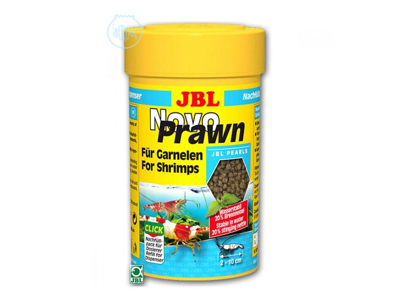 JBL Novo Prawn 100ml es alimento en grano especial para las gambitas JBL Novo Prawn