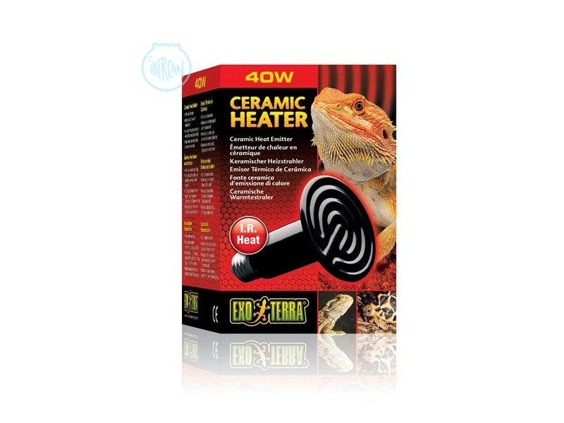Emisor térmico cerámico para reptiles