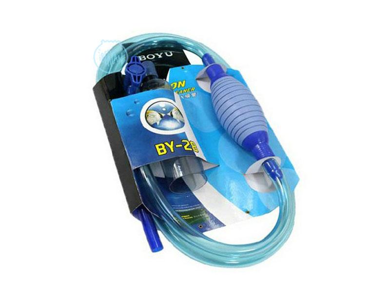 Aspirador manual agua acuarios Boyu