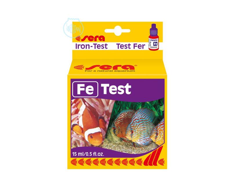 Test hierro Fe Sera
