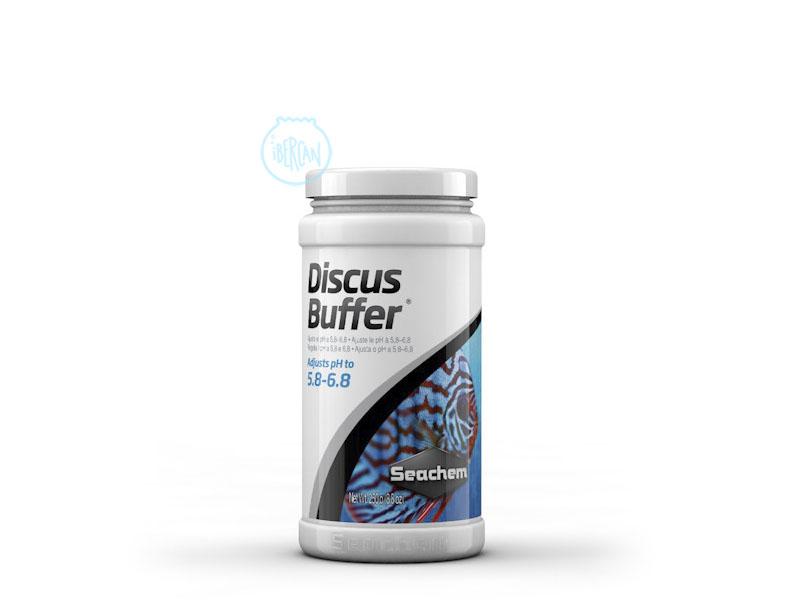 Reductor PH en agua de acuarios Seachem Discus Buffer