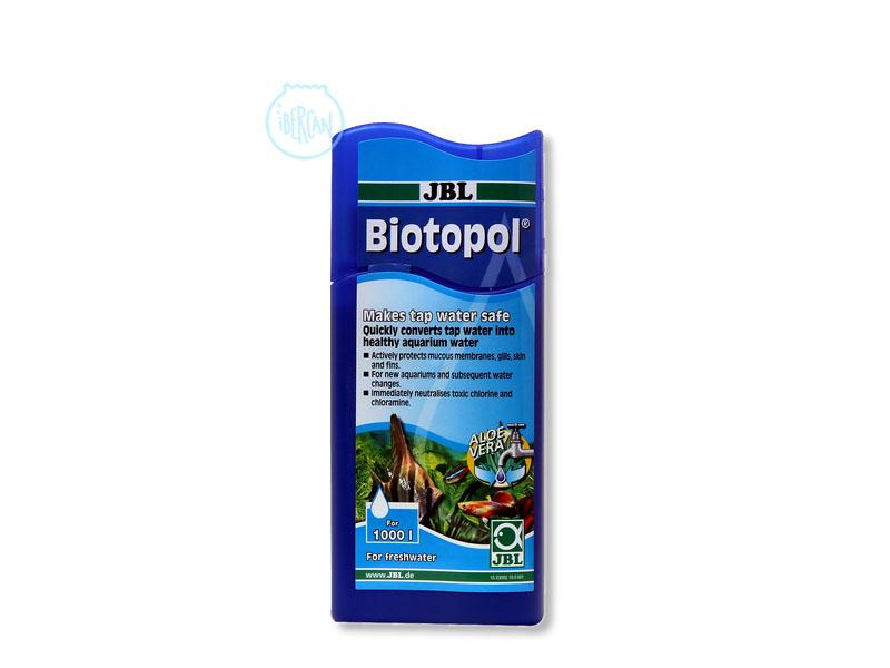 Acondiconador agua del acuario JBL Biotopol