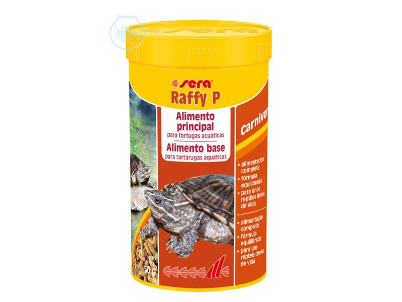 Alimento tortugas de agua Sera Raffy P