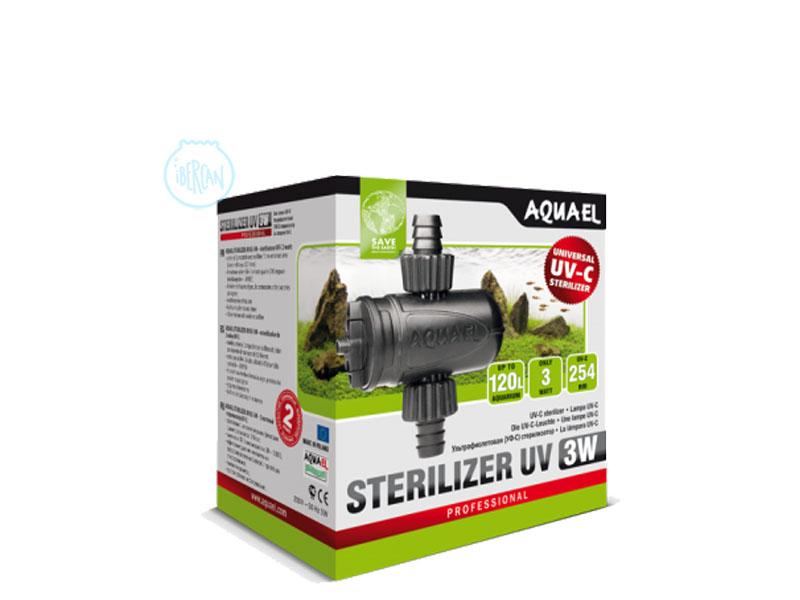 Esterilizador 3W Aquael Sterilizer UV AS-3w
