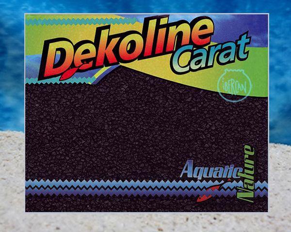 Arena negra para acuarios Aquatic Nature Dekoline Nero 5kg